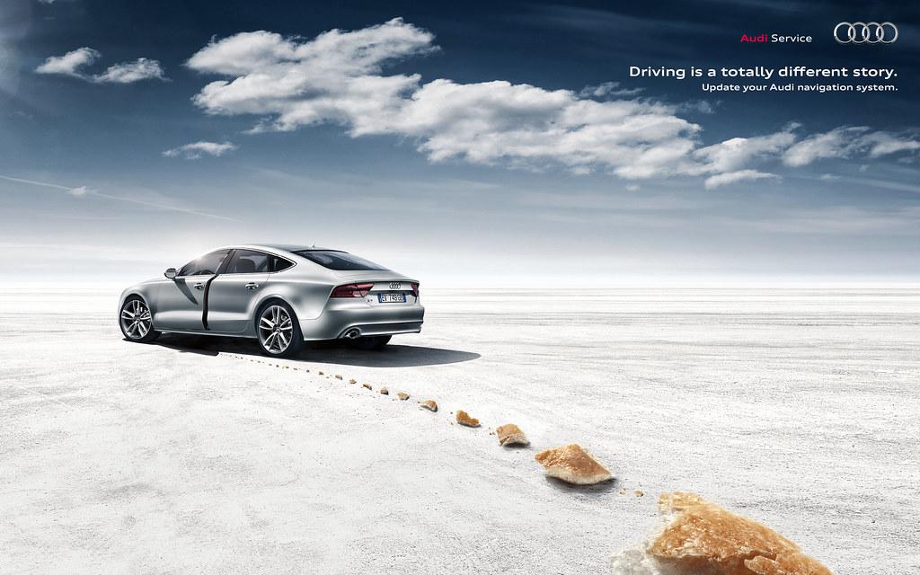 Audi Navigation System - Bread