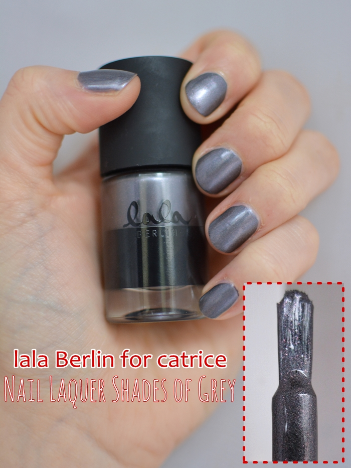 lala Berlin for catrice Nail Laquer Shades of Grey
