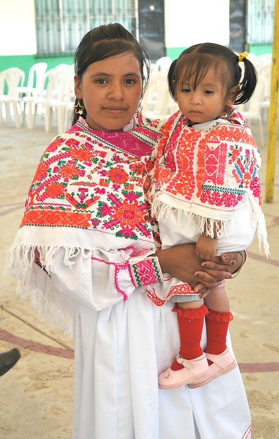 Mother and Child Hidalgo Mexico