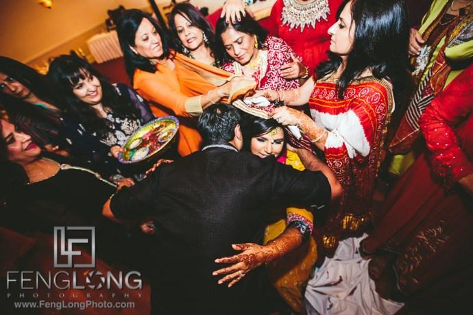 Atlanta Ismaili Indian Wedding Pithi