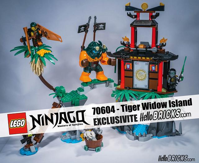 REVIEW LEGO Ninjago 70604 HelloBricks