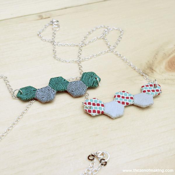 Mini Hexie Necklace