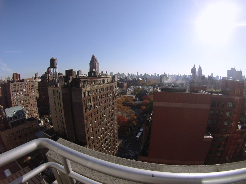 The View. The VIEW! Of New York City from the NYLO Hotel.