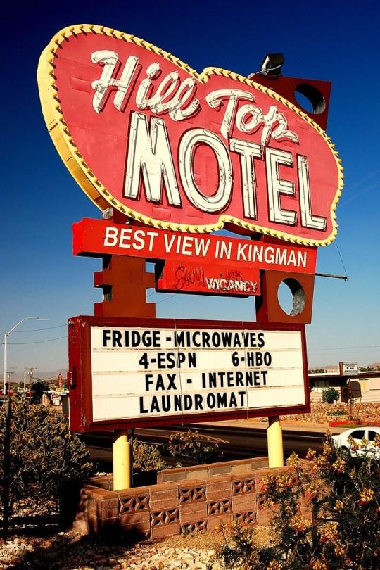 Hill Top Motel - 1901 East Andy Devine Avenue, Kingman, Arizona U.S.A. - May 4, 2013