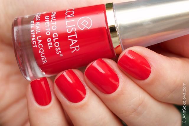03 Collistar Gloss Nail Lacquer #580 Rosso Sofia