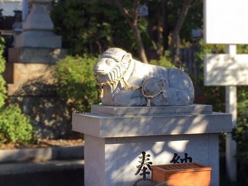 羊神社_狛羊