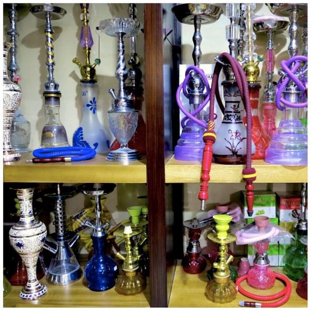 Cachimbas en Jordania