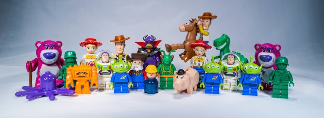 All the Lego Toy Story Minifigures in One Picture