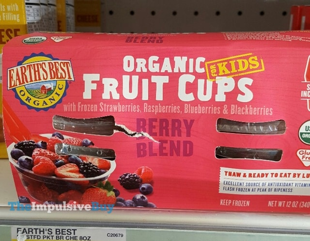 Earth's Best Berry Blend Organic Fruit Cups