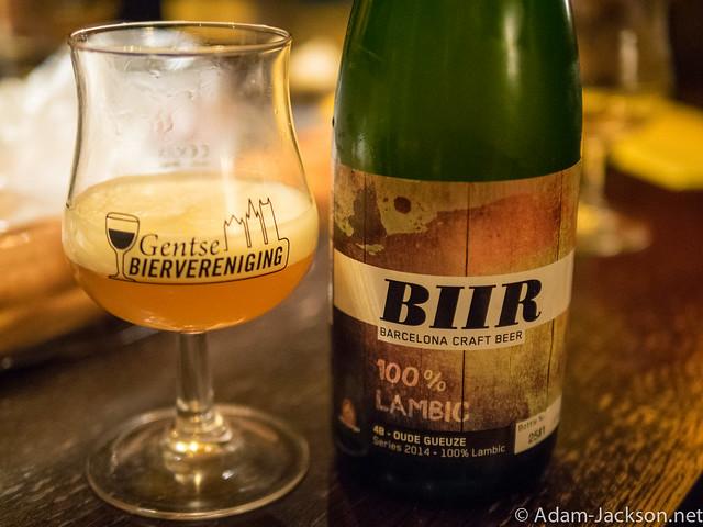 BIIR 4B Oude Gueuze - 2014 Lambic Series
