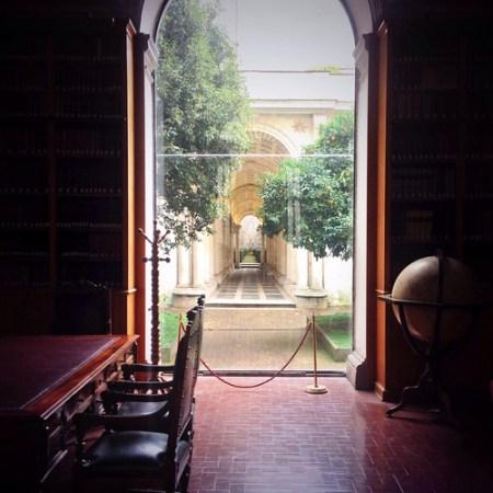 Prospettiva del Borromini a Palazzo Spada, Roma