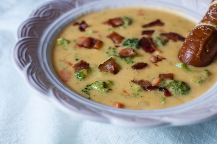 Loaded Broccoli Cheese Soup 2