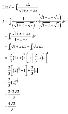 RD Sharma Class 12 Solutions Chapter 20 Definite Integrals Ex 20.1 Q53