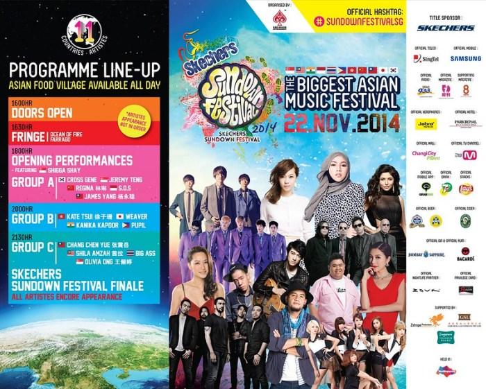 sundown festival 2014 lineup