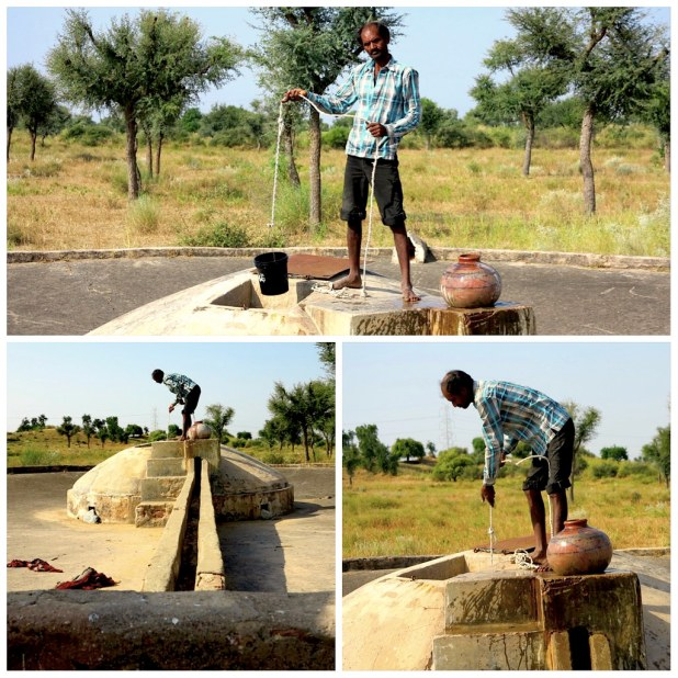 Pozo de agua, India