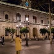 Seville Jan 2016 (12) 414 - Evening in Plaza Nueva