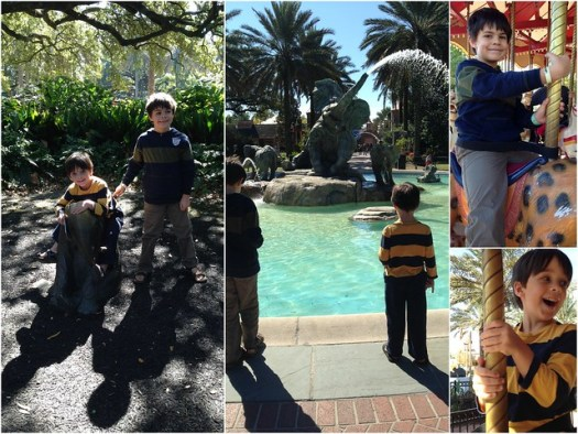Boys at Audubon Zoo
