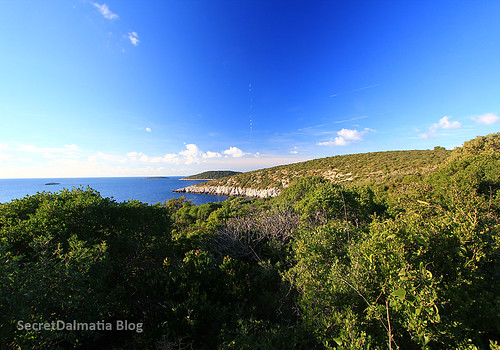 Magical coast of Šolta