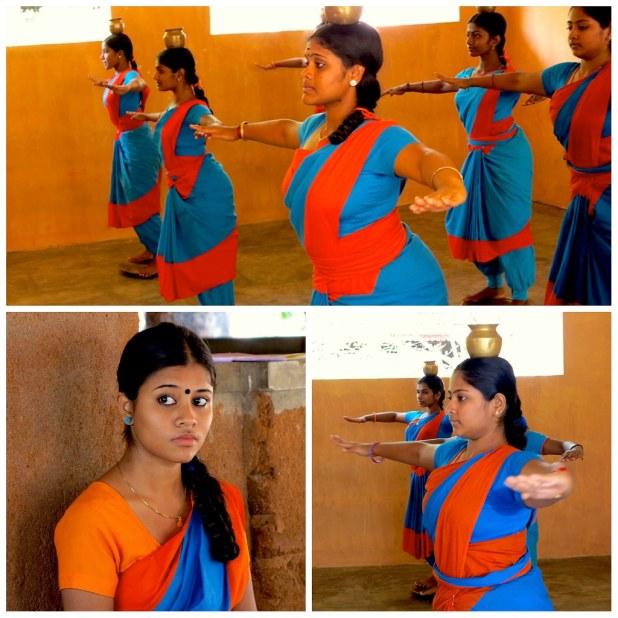 Danza Mohiniyattam en Kerala, India