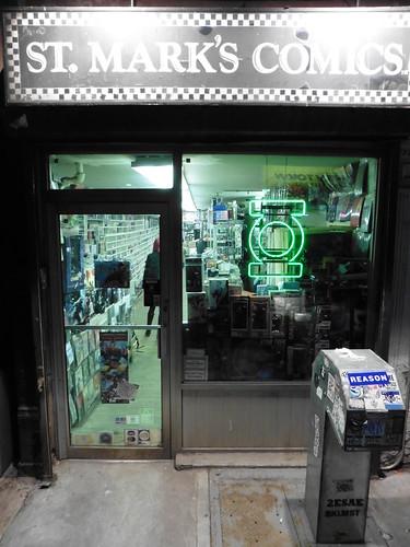 Tiendas y lugares frikis en Nueva York: St. Mark's Comics