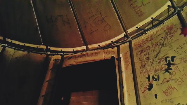 daegu // private yurt room at ggotbat