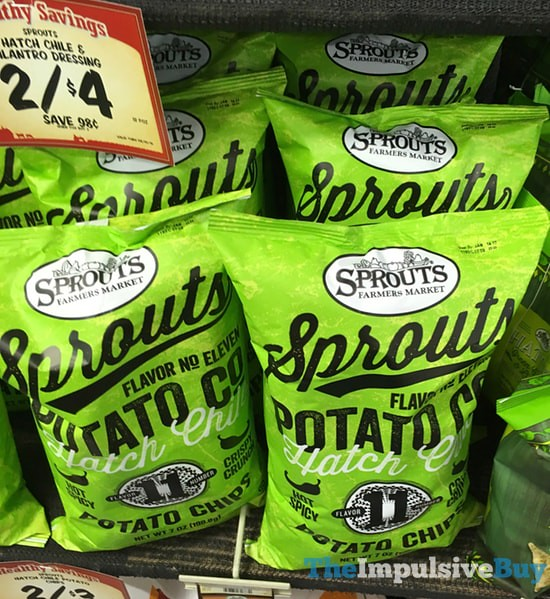 Sprouts Hatch Chile Potato Chips