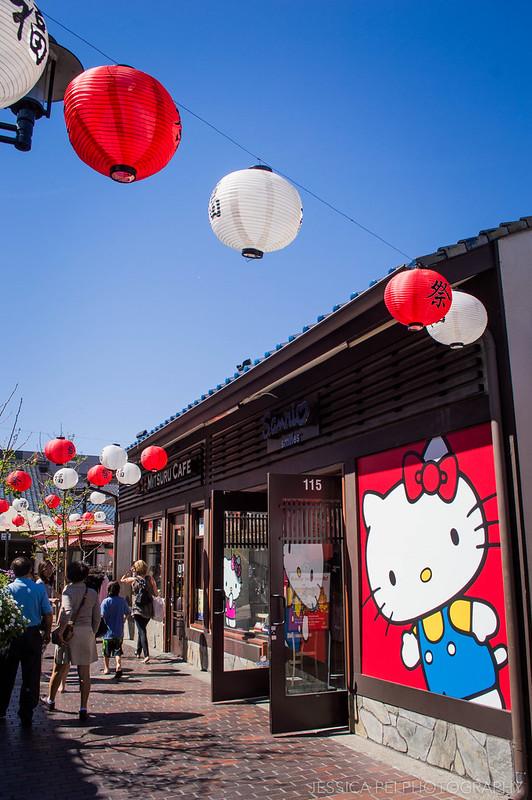 Hello Kitty Store Little Tokyo Los Angeles California