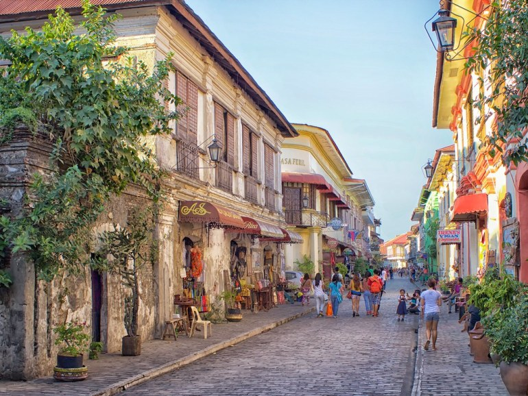 Calle Crisologo, Vigan, Philippines - One of The New 7 Wonder Cities of The World