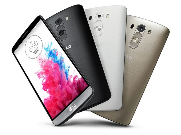LG G3 colores Android telefonos