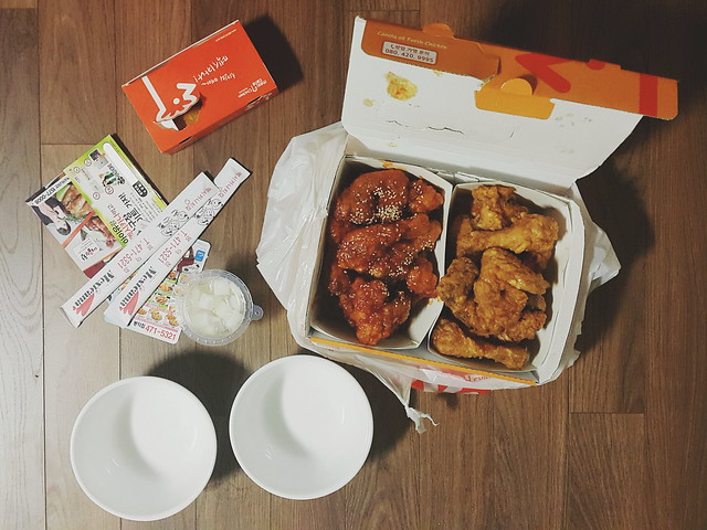 Korean delivery / Mexicana chicken