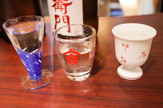 グラスは自分で選ぶ