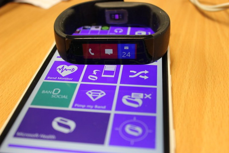 Writing apps for the microsoft band