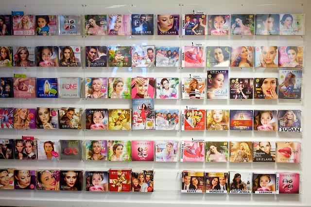27 Oriflame Stockholm Press Tour Global Office, worlds cataloges