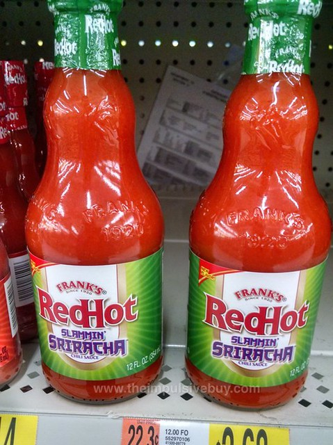Frank's Red Hot Slammin' Sriracha Chili Sauce