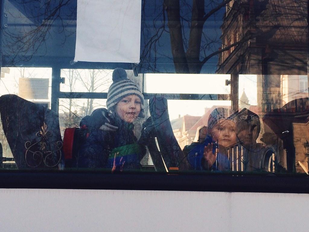 Titus Rides the Bus (3/18/15)