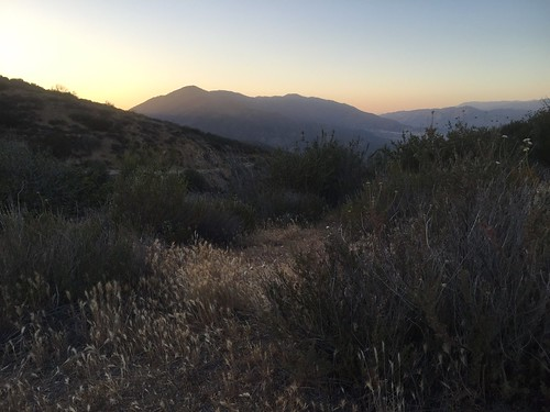 Evening above the desert
