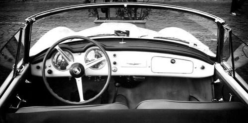Lancia B24S convertibile cruscotto
