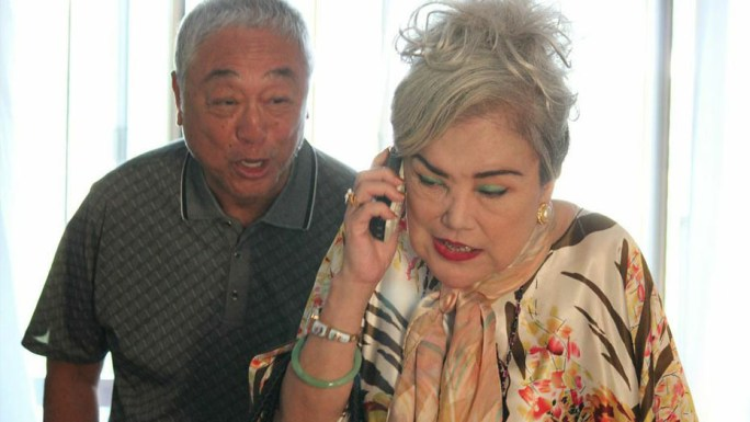 Tsang's and Shaw's characters are an old couple who have grown weary of each other in old age. Credit: Singapore Chinese Film Festival