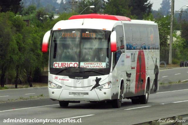 Talmocur (Moraga Tour) | Irizar Century - Mercedes Benz (DSDS77)