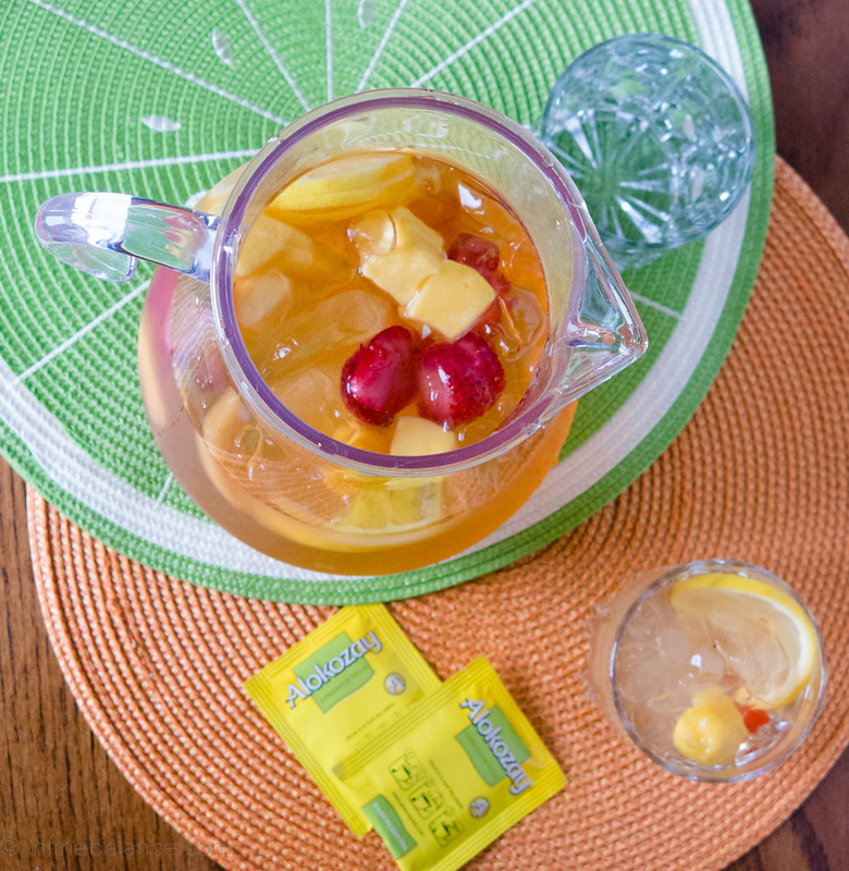 Summer Fruit Tea | www.infinebalance.com