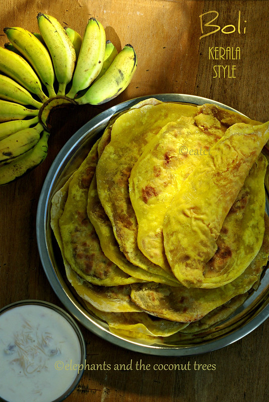 Boli kerala style puran poli kerala sadya recipe elephants and in south kerala boli is made for hindu weddings and for maru veedu brides family visiting the grooms home first time after the wedding forumfinder Gallery