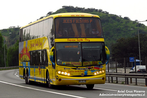 Expreso Santa Cruz - Angostura Paine - Busscar Panorâmico / Scania (BYXX18)
