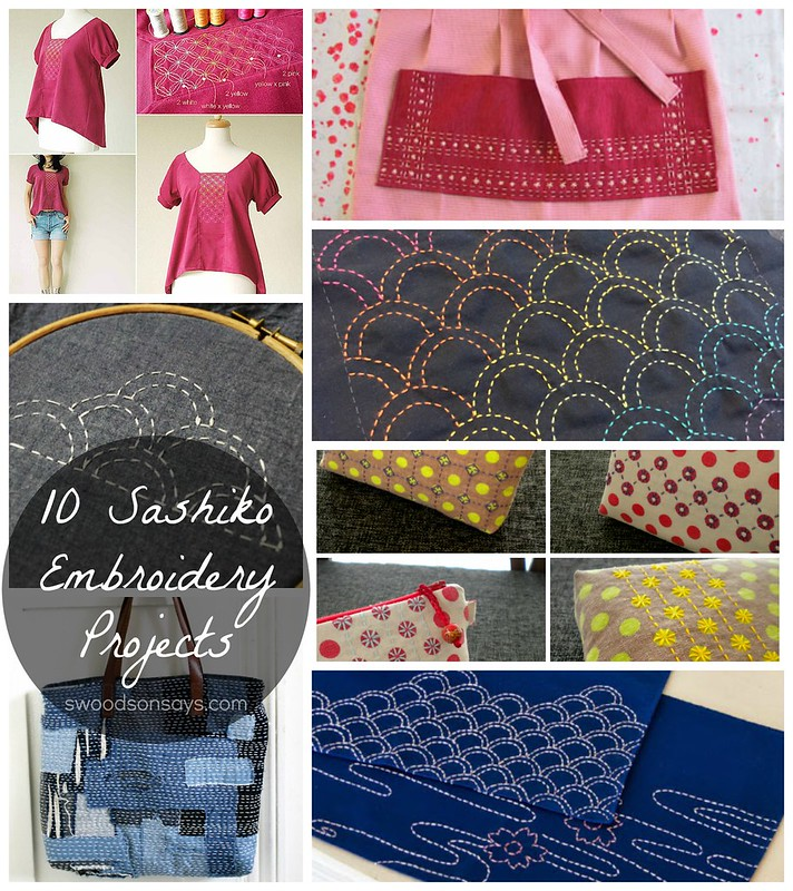 Sashiko DIY Tutorial Ideas