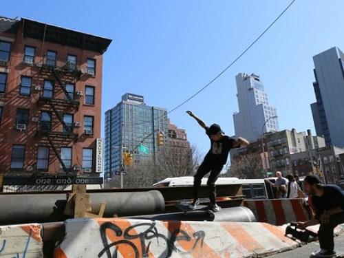 See something skate something