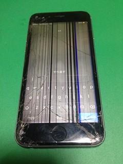 89_iPhone6Sのフロントパネル液晶割れ
