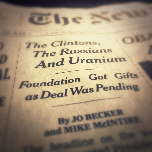 The Clintons, The Russians and Uranium