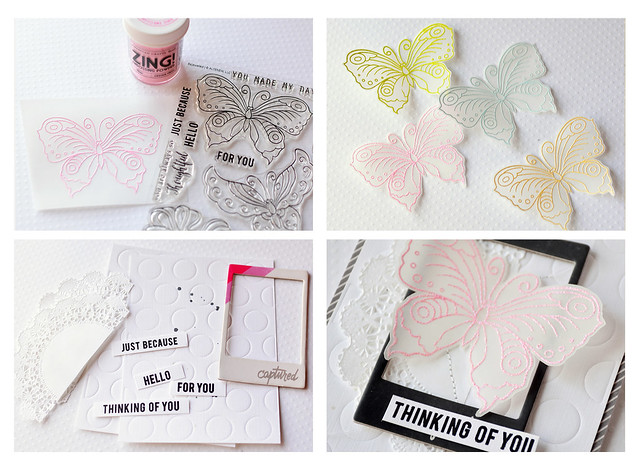 Butterfly Card Set