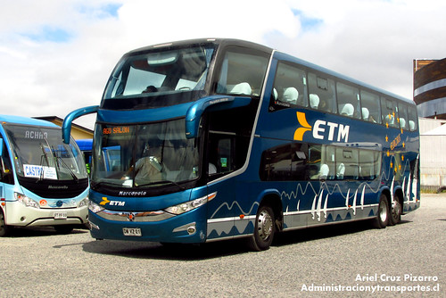 Buses ETM - Castro - Marcopolo Paradiso 1800 DD / Scania (DWVZ21)