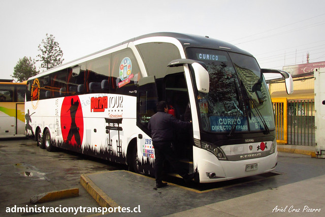 Moraga Tour | Curicó | Neobus New Road N10 380 - Scania / FYBX17 (2916)