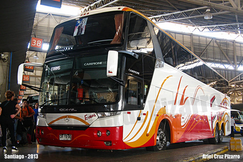Buses Evans - Santiago (Chile) - Comil Campione 4.05 HD / Mercedes Benz (DRYB90)